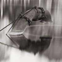 Pipe and Water by TMPhotographia