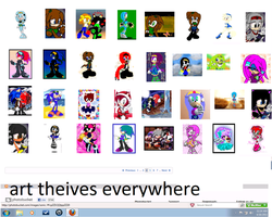 art thevies everywhere by monkiesonunicyclesXD
