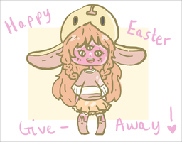 Happy Easter give away by Hylian-Pugapillar