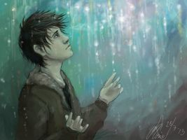 Rain of memory by MonsieArts