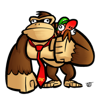 Donkey Kong by Hierogriff