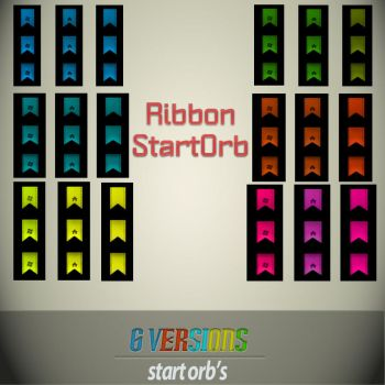 Ribbon-StartOrbs_ColorPack by BlankID