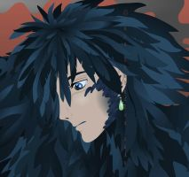 Howl - close up by broom-rider