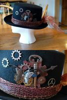Steampunk Key Hat by kitsunehoruri