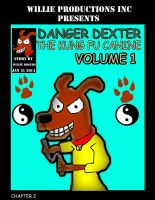 Dexter Danger Comic Book Cover by Willie-D89