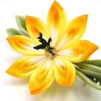 Orange yellow lilly by offgenemi