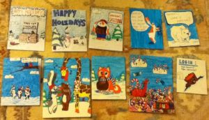 Holiday Cards 2012 front by Deviant-Danni