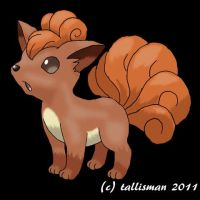Vulpix by TallyBaby13