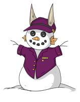 Hello Mr. Snowman by Sparkle-And-Sunshine