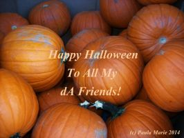 Happy Halloween To All My dA Friends by youlittlemonkey