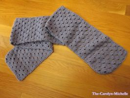 Purple Rain Scarf by the-carolyn-michelle