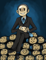 GROUCHO, THE TYMPOLE BOSS by Commisama