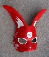 Lunar New Year Rabbit Mask by b3designsllc