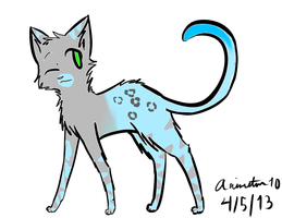 5 Point  Cat Adopt by deathangel227