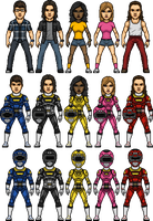 Power Rangers Turbo Alternate by SpiderTrekfan616