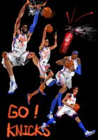 GO KNICKS by zhuzhu