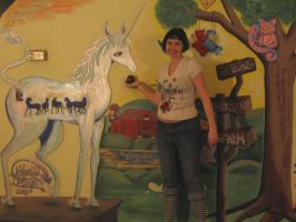 Me and the Last Unicorn by mayanbutterfly