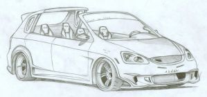 Honda Civic Targa by FuseEST