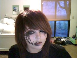 Black Veil Brides Makeup by CielVonnMonroe