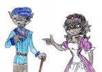 Thaddeusi and Ophelia moment by trexking45