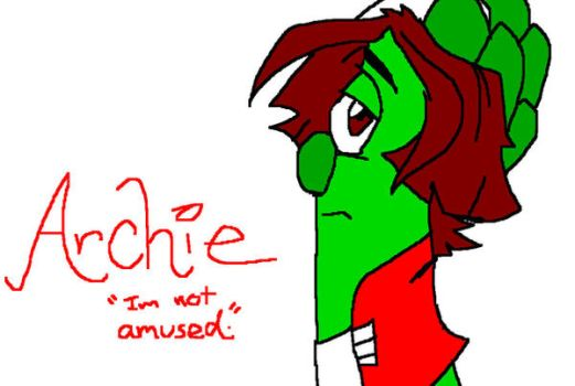 archie is not amused by danigirl1718