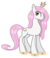 Princess Butterfly - Pony OC by pepooni