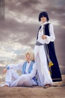 Trinity Blood : Ion Fortuna and Radu Barvon by Misaki-Sai