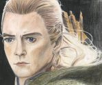 Legolas 28 color by BethannNg