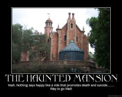The Haunted Mansion by gazman3855