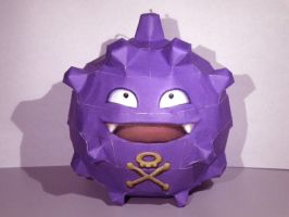 Koffing by jewzeepapercraft