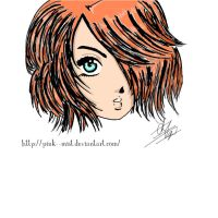 Red Head - Creation by Pink--Mist