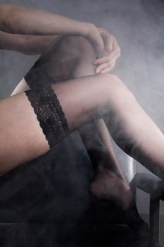 Stockings ad by Rinc3wind