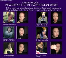 PewDiePie meme - Time to embarrass myself by Dreamnation1256