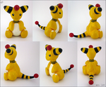 Ampharos Figurine by MaryCapaldi
