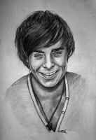 Kind of Zac Efron by Lmk-Arts