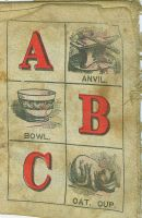 antique cloth ABC book_pg_3 by Techture