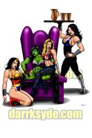 SHE-HULK TAKES OVER PARADISE by Dwid