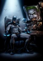 The Dark Knight by VinRoc