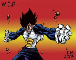 008 - TUS's vegeta color by Acre