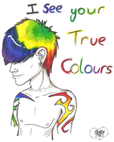 I see your true colours by A-McQ