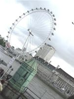 London Eye 2008 by cassiwoo