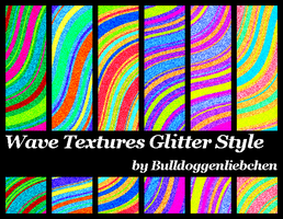 Wave Texture Glitter Style Pack by Bulldoggenliebchen