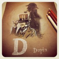 D is for Dupin by Disezno
