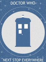 Doctor Who Minimalist Poster by Mr-Saxon