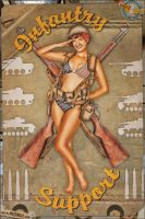 Pinups - Infantry Support by warbirdphotographer