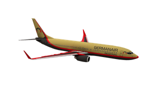GermanAir B737-800 Default FSX by VanKaiser