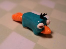 Perry the Platypus by candymonsters