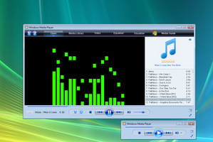 Windows Media Player 11 Vista by XceNiK