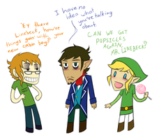 Meeting Link and Linebeck by NitrusOxide