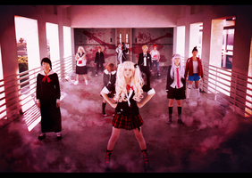 Dangan Ronpa Cosplay by Dragons-Roar